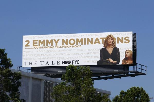 Tale 2018 HBO Emmy nominee billboard