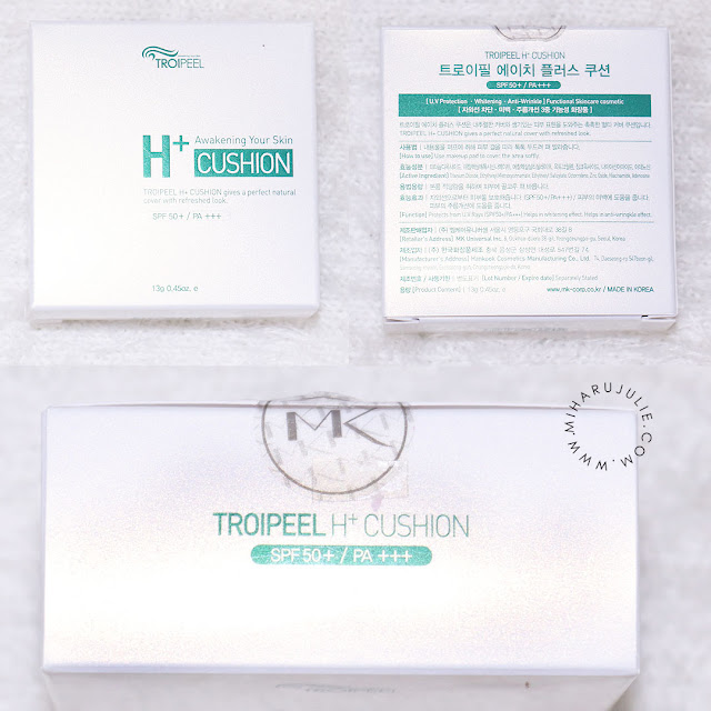 TROIPEEL H+ Healing Cushion