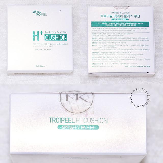 TROIPEEL H+ Healing Cushion