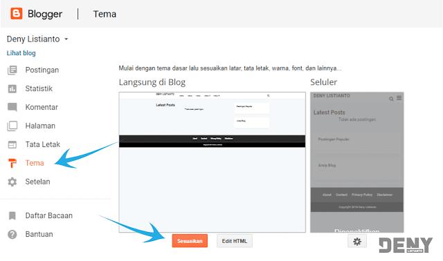 Membuat Menu Grid di Postingan Blog
