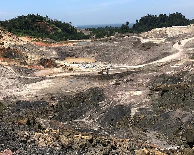 tambang batubara di hulu sungai bengkulu membuat banjir