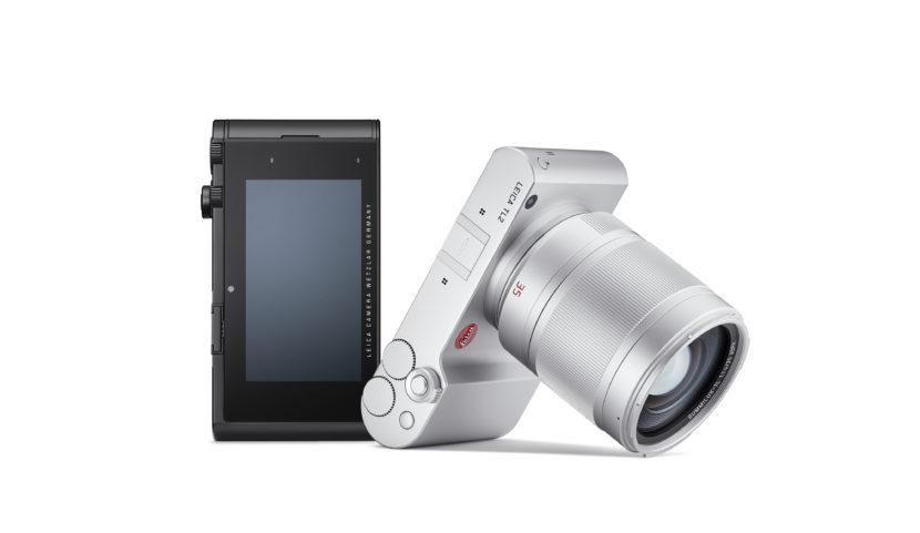 Leica TL2, доступны серебристый и черный цвета корпуса