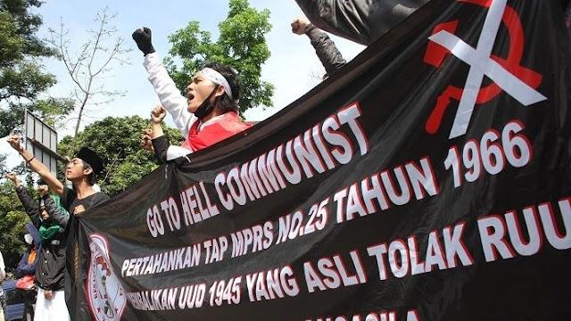 Imbas Bakar Bendera PDIP, FPI Siaga 1 Jihad Qital Ganyang Komunis