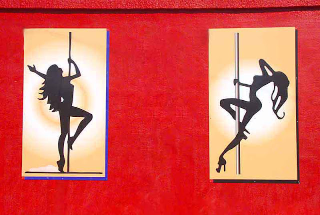 Poledancer signs