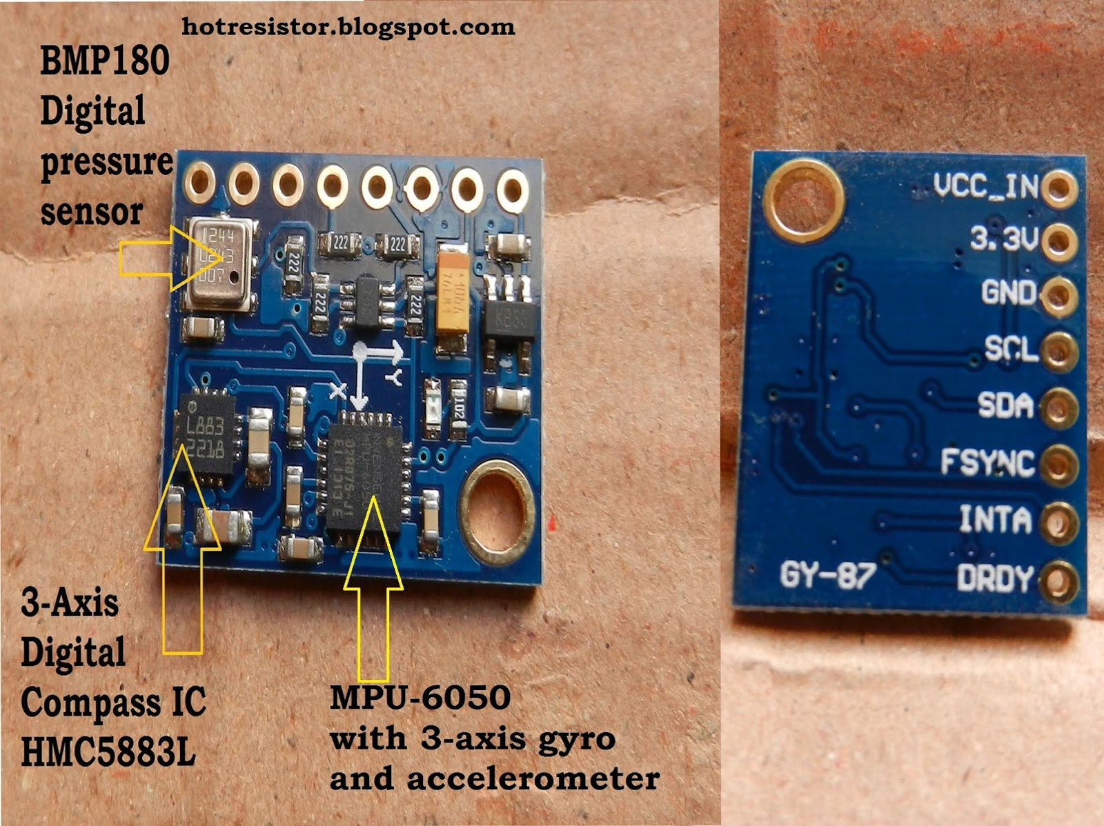 Interfacing Arduino With Gy 87 Making The Module Work In Just 05 Digital Compass Circuit Minutes