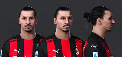 PES 2021 Faces Zlatan Ibrahimovic by Owen31