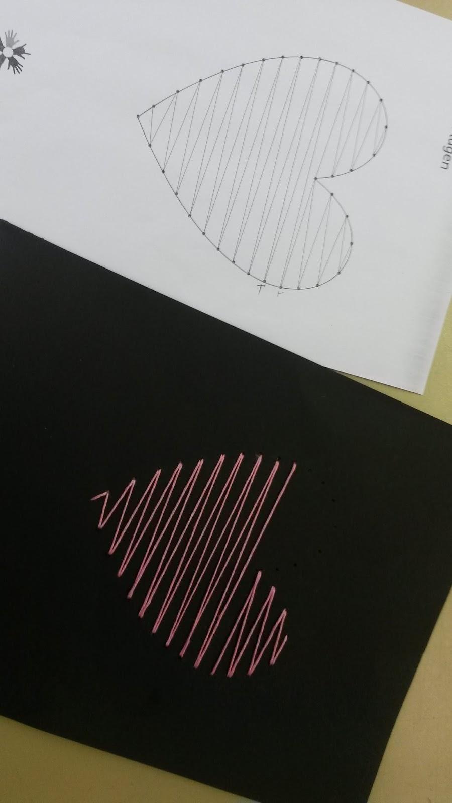 Hasenklasse geometrisches sticken fadengrafik for Sticken vorlagen kostenlos