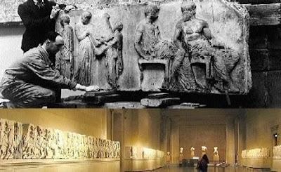 marbres du parthénon british museum