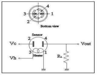 Rangkaian Dasar Sensor AF-30