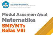 Modul Asesmen Awal Matematika Kelas 8 SMP/MTs
