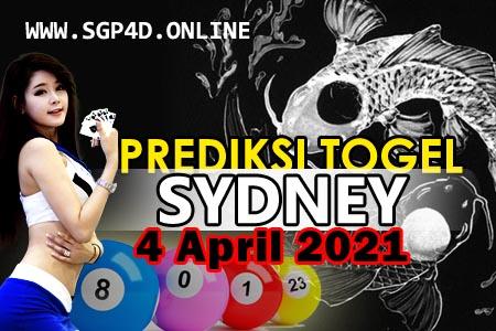 Prediksi Togel Sydney 4 April 2021