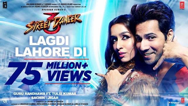 Lagdi Lahore Di Song lyrics in Hindi | Street Dancer 3
