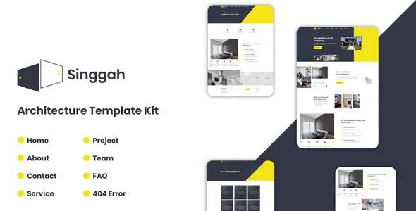 Best Architecture Elementor Template Kit