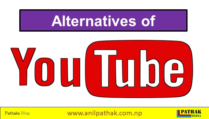 What are the alternatives of Youtube?
