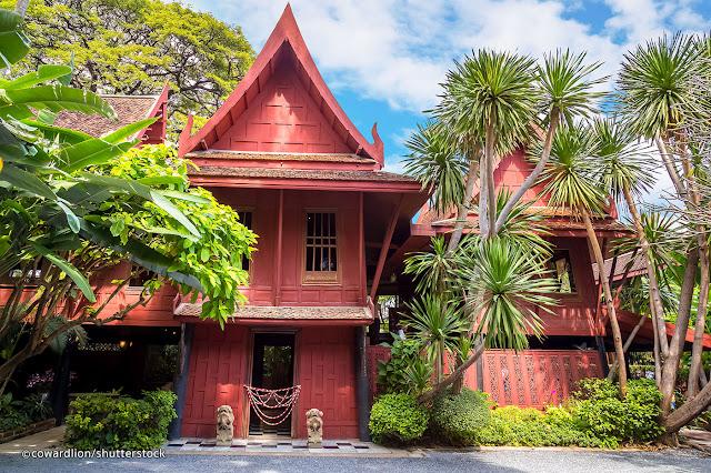 10 Destinasi Wisata  Di Bangkok Yang Wajib Dikunjungi - Jim Thompsons House