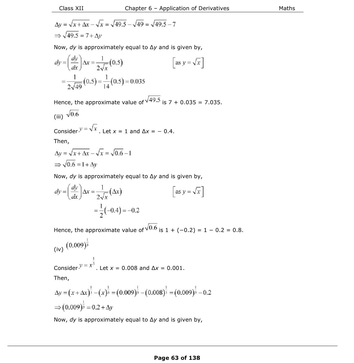 NCERT Class 12 Maths Solutions Exercise 6 4-Exam Help