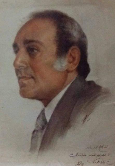عبد القادر حميدة بريشة جمال قطب