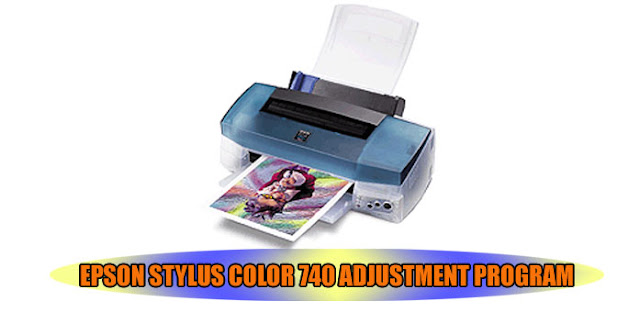 Epson Stylus Color 740 Printer Adjustment Program