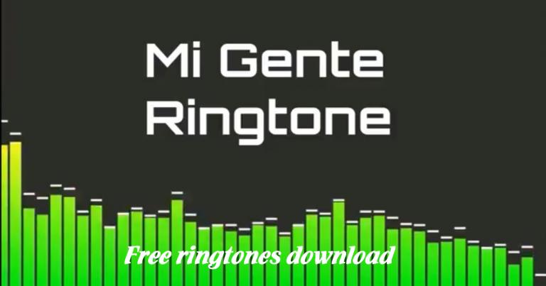 mi gente ringtone mp3 download free
