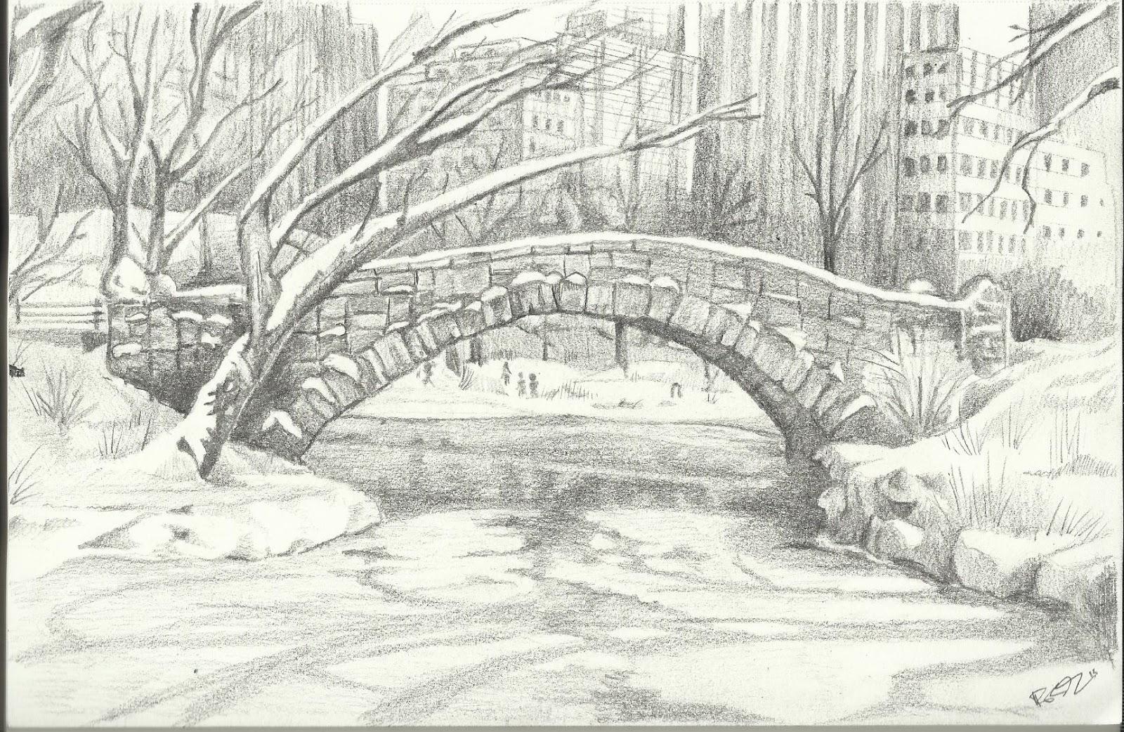 Central park bridge study