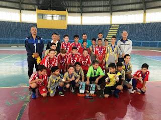O final de semana foi marcado por decisões no Futsal de Base em Registro-SP