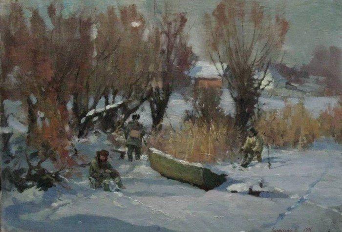 Украинский художник. Виталий Бараненко