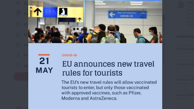 Tak Ada Sinovac dalam Daftar Vaksin Uni Eropa, Ibas: Jangan Sampai Kita Di-Banned Dunia