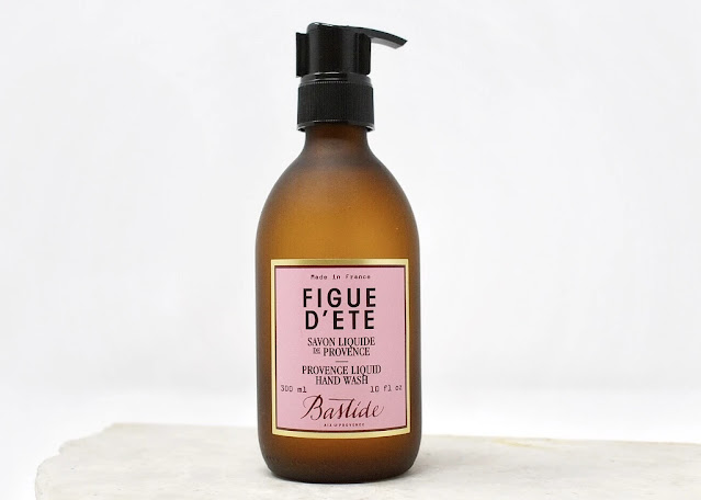 Provence Liquid Hand Wash in amber glass bottle