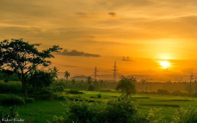 Sunset shimoga