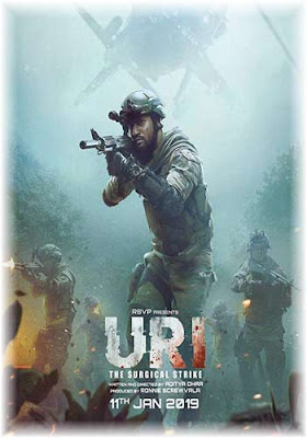 Uri The Surgical Strike 2019 BluRay Hindi Movie Download Poster
