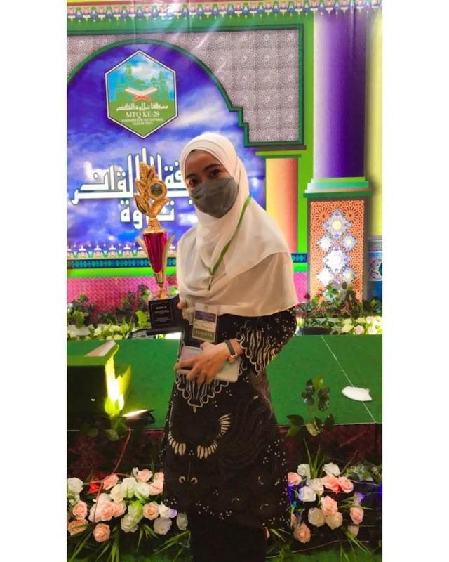 Mahasiswa Prodi PAI Raih Juara 2 Lomba Kaligrafi Dalam MTQ Ke-29 Tingkat Kabupaten Ketapang