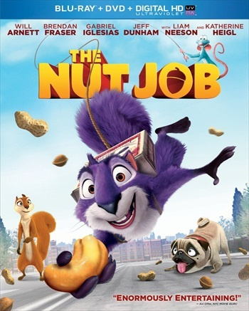 The Nut Job 2014 Dual Audio Hindi 720p BluRay 950mb