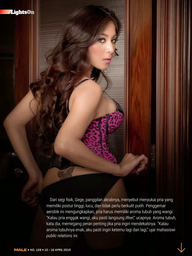 Hot Photo Dillian Gresta di Majalah Male Edisi 128 April 2015
