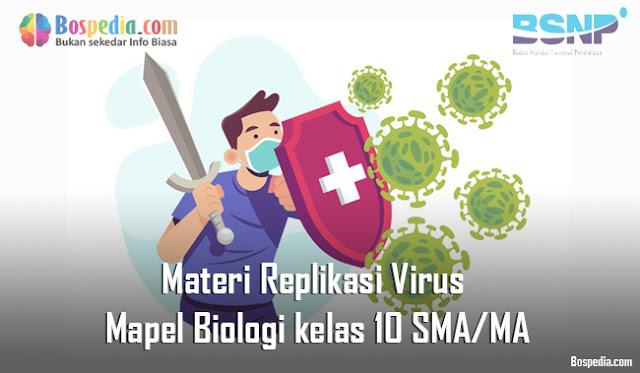 Materi Replikasi Virus Mapel Biologi kelas 10 SMA/MA