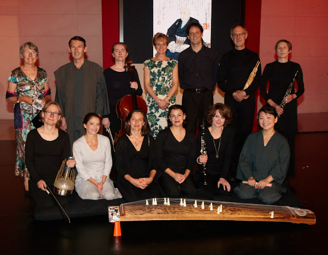Nicola Lefanu with Okeanos Ensemble & cast of Tokaido Road
