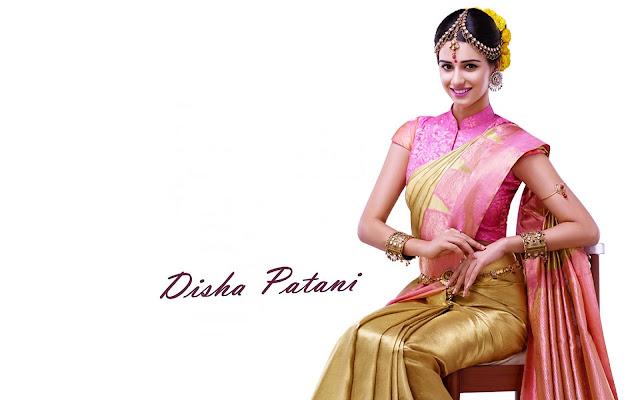 disha patani saree images