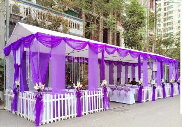Nhà bạt lụa giải pháp lãng mạn, sang trọng cho dựng rạp đám cưới - THIẾT BỊ  TỔ CHỨC SỰ KIỆN