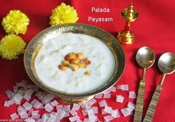 Palada Pradhaman Payasam