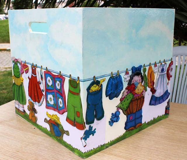dekupaj hamuruyla kabartma kutu yapımı