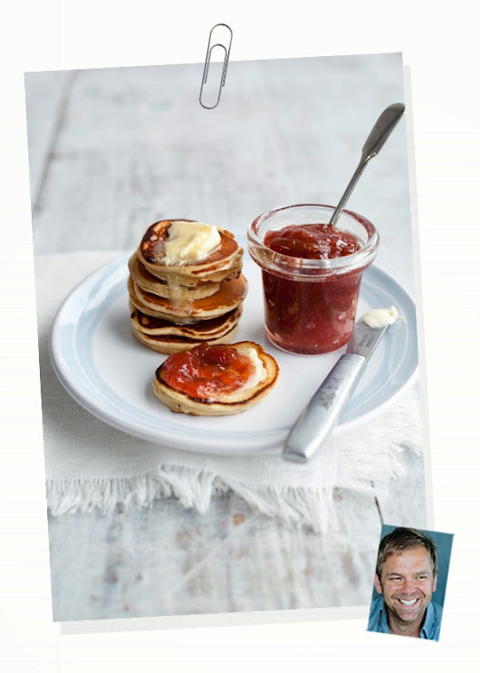 Bill Granger's delicious recipe for pancake day
