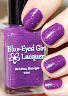 Blue-Eyed Girl Lacquer BEGL Gnomebody But You