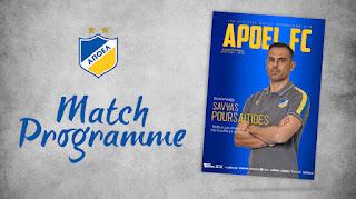 Επίσημο πρόγραμμα αγώνα #78: ΑΠΟΕΛ - Ερμής Αραδίππου (Α' Φάση-19η Αγωνιστική)