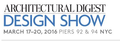 Architectural Digest Home Design Show March 17 20, 2016