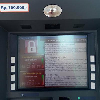 Mesin ATM Bisa Terinfeksi Virus Ransomware - WannaCry | THE 330K