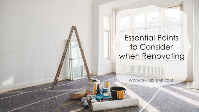 Essential Points to Consider when Renovating