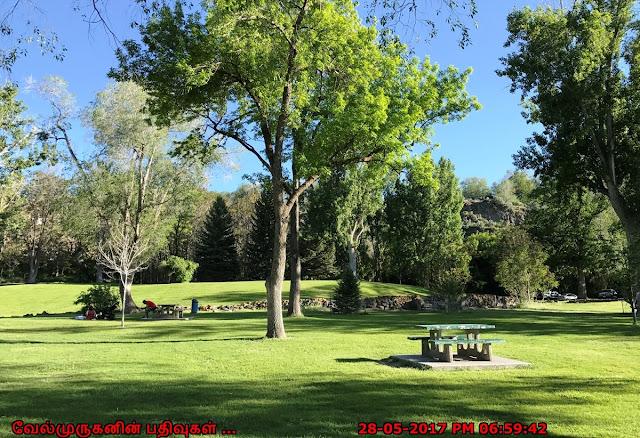 Shoshone Falls Park in Idaho