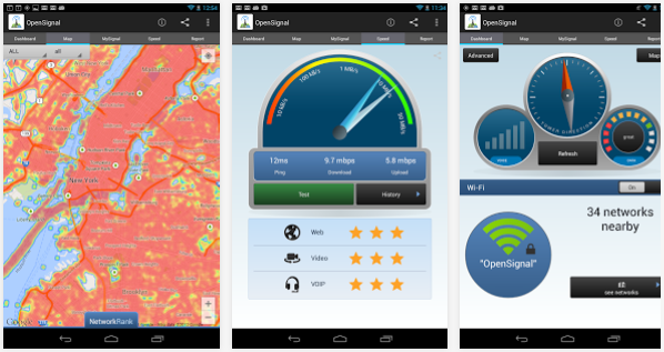 Apps Apk Collection: OpenSignal - 3G/4G/WiFi maps 2 25 Apps apk