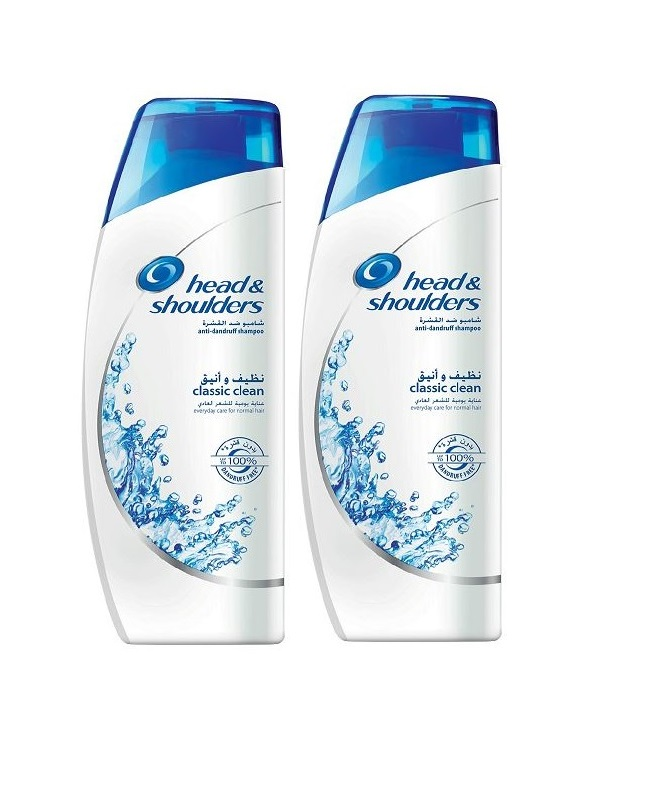 Pack Of 2 - Head And Shoulder Classic Clean Shampoo 200 ml