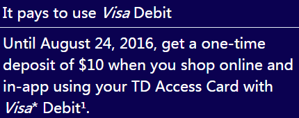 td visa how to cancel a purchase