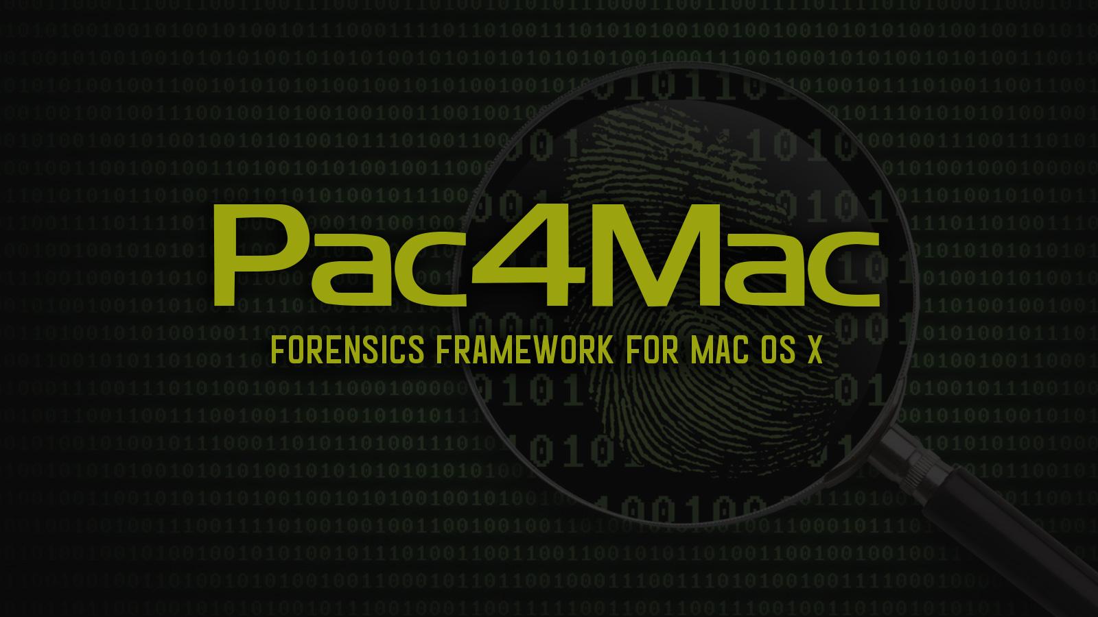 Pac4Mac - Forensics Tool